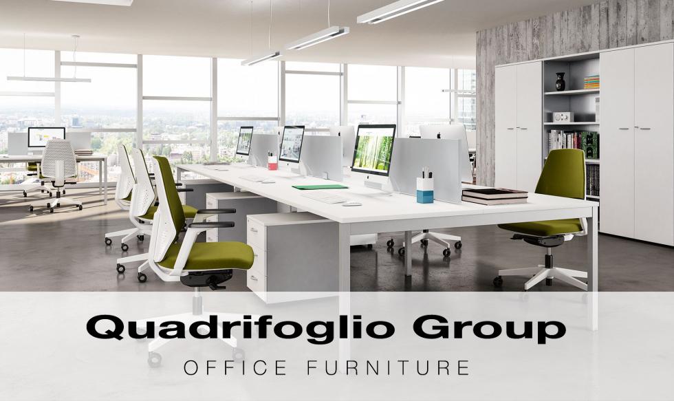 Scopri i nostri mobili per ufficio | Quadrifoglio Group